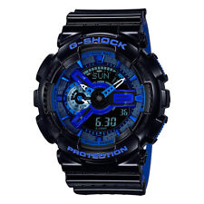 Casio G-Shock GA110LPA-1A Luxury Watch - Black/Blue / One Size