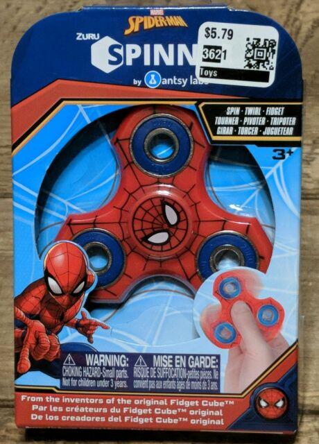 Zuru Marvel SPIDERMAN Fidget Spinner Brand New In Package Free Shipping