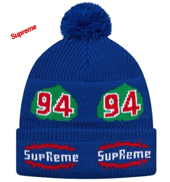 SUPREME Leaf Beanie Royal BLUE Ski Hat   CHOICE PIECE   NEW WITH TAG 18fc677aef3