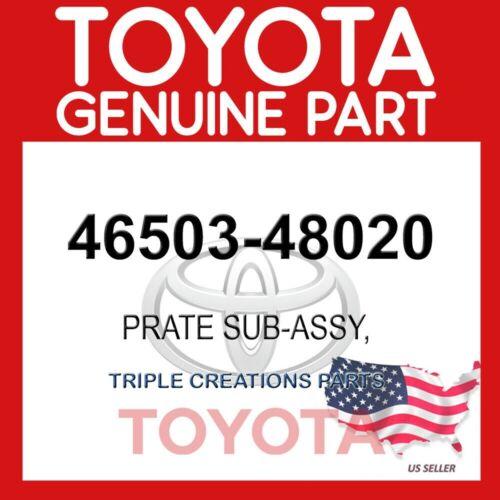 46503-48020 OEM 4650348020 GENUINE Toyota PLATE SUB-ASSY PARKING BRAKE RH