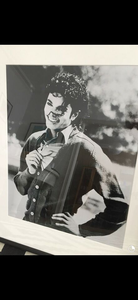 Billeder, Michael Jackson billede i ramme