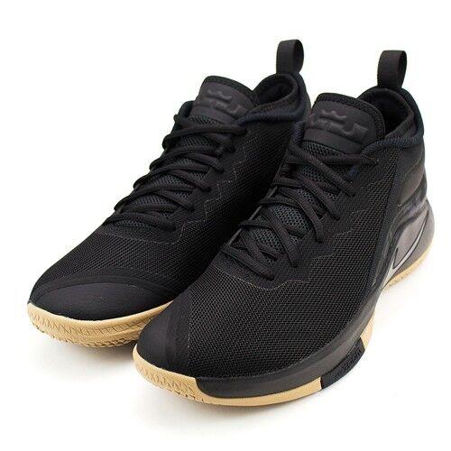 Nike Uomini Da Lebron Testimone Ii Pe   Da Uomini Basket Nero / Gomma Aa3820-020 Us7-11 04