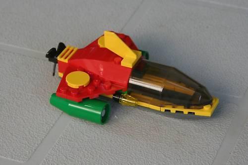 Batman™ Robin/'s Sub from LEGO® set #7885 No minifigs