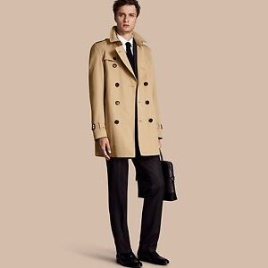 d973191ef0a6 Image is loading Burberry-1795-The-Kensington-Mid-Length-Heritage-Men-