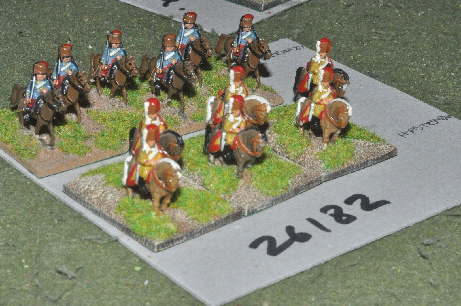 15mm 7YW   french - 2 regts. 12 figures - cav (26182)