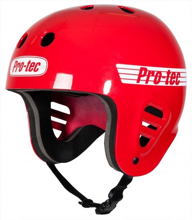 Pro-tec Classic Full Cut Watersports Helmet Wake Canoe Kayak, S to L, Red. 61282