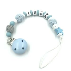 Personalised dummy clip MAM 3 FOR £7