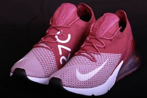 b15c417594f3 Nike Air Max 270 Flyknit Plum Burgundy White Maroon Wine Shoe AO1023 ...