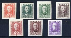 Muy-Raros-sellos-no-emitidos-Espana-Franco-40-centimos-sin-dentar-completa