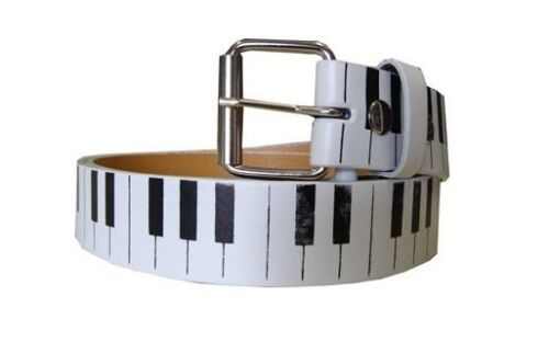 Brand New Printed Leather Belt Snap-On Removable Roller Buckle Unisex Mens Women