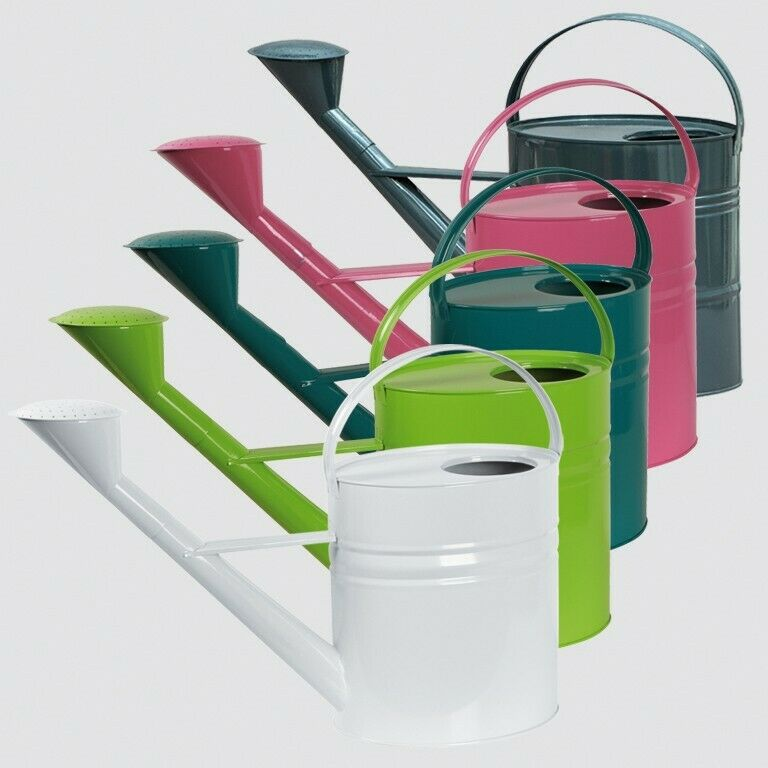 Zinc Watering Can Watering Cans Green 10l Garden Patio Balcony New Top