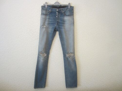Stonewashed Project Men's Ontrafijn Distressed Jeans m80vNnw