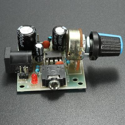 New LM386 Super MINI Amplifier Board 3V-12V Power Amplifier Module 37 x 41 mm