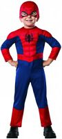Toddler Deluxe Ultimate Spider-man Costume Superhero Halloween Toddler Size 2-4