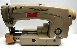 UNION-SPECIAL-63900-T-Jeans-Bottom-Hemming-Industrial-Sewing-Machine-Head-Only