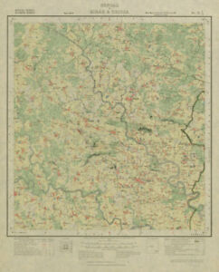 Asia Maps Art Survey Of India 73 I/12 West Bengal Puncha Manzabar Bagda Kenda Napara 1928 Map High Standard In Quality And Hygiene