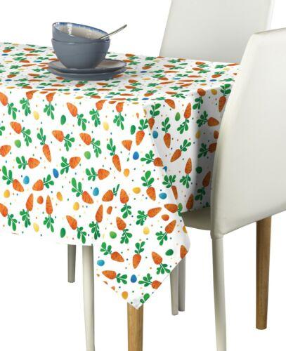 Carrots Dots Eggs Signature Tablecloth Assorted Sizes