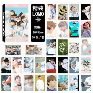 30pcs-set-Kpop-SEVENTEEN-Collective-Personal-Photo-Picture-Poster-Lomo-Card