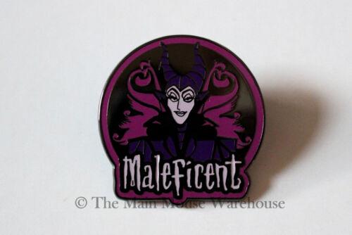 Disney/'s Maleficent Purple and Black Reflective Halloween Disney Villains Pin