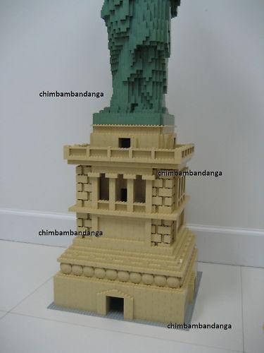 Lego Statue Of Liberty 3450 Base Pedestal Instructions Ebay