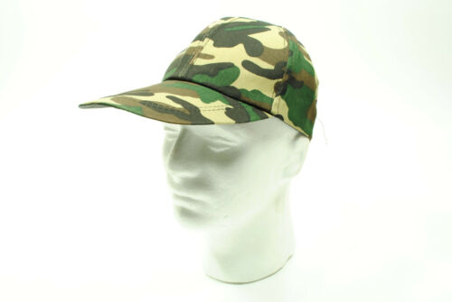 Baseball Cap//Hat Old School Vintage Classic Army Camo Camouflage Pattern