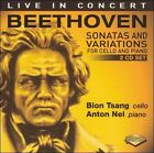 Beethoven: Sonatas and Variations for Cello & Piano (CD, Feb-2006, 2 Discs, Artek)