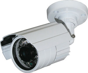 Outdoor-Camera-System-1-4-034-3-6mm-Wired-Security-Surveillance-Night-FREE-SHIPPING