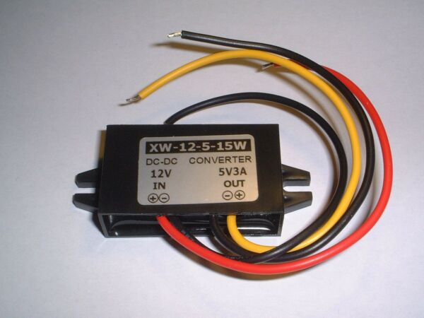 12v To 5v Converter (3 Amp) Uk Stock Tekorten