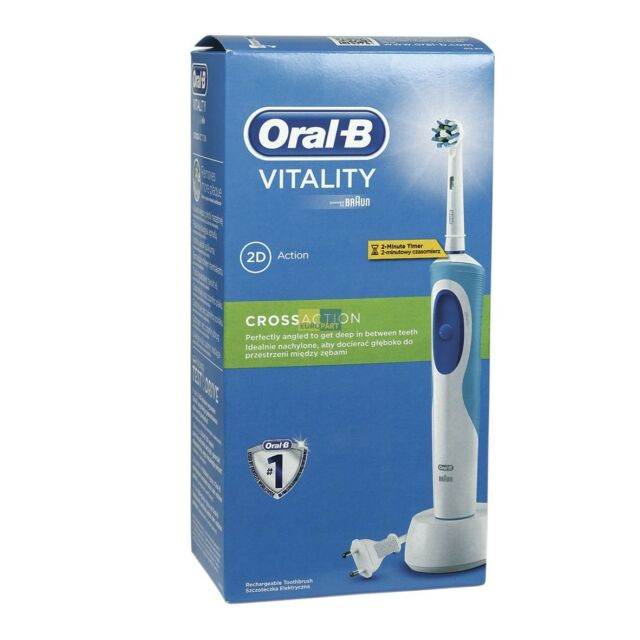 Nuevo D12.513 Braun 3709 Oral-B Vitality Cross Action Cepillo Dientes  Eléctrico c1931e4813b9