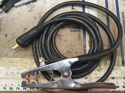 """9ft Ground Cable Clamp fits Vulcan 220 Lincoln Miller Lincoln 1//2/"""" 35-70 Dinse"""