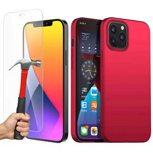 Coque-Mat-Verre-Trempe-Film-iPhone-12-Mini-12-Pro-Max-11-XR-XS-8-7-6-Plus