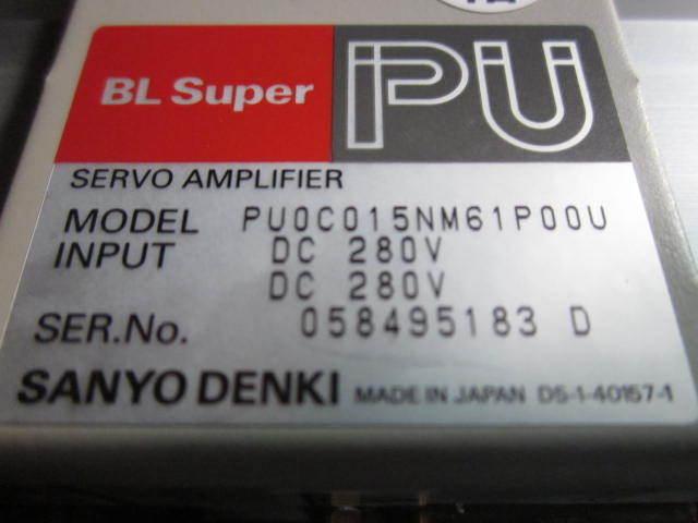 Amplifier BL SUPER PU PU SERVO Driver  SANYO DENKI PU0C015NM61P00U