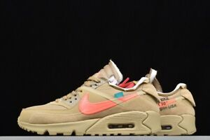 Details about Off White x Nike The Ten: Air Max 90 Desert Ore Liquidation of shop Best price