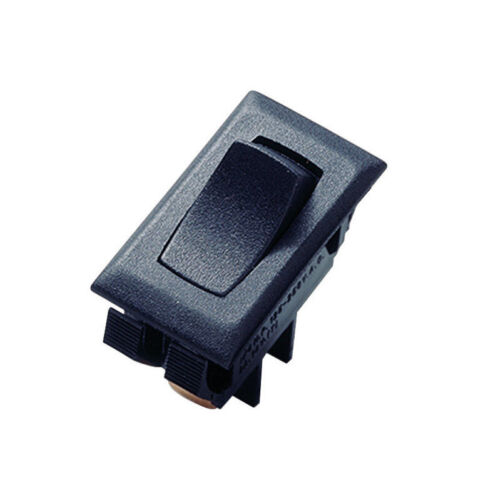 Gardner Bender  16 amps Black  Rocker Switch  SPST
