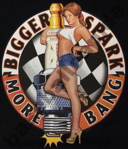 T-Shirt BIKER ROUTE 66 V8 USA KUSTOM PINUP HOT ROD VINTAGE RETRO SKULL BONES 747