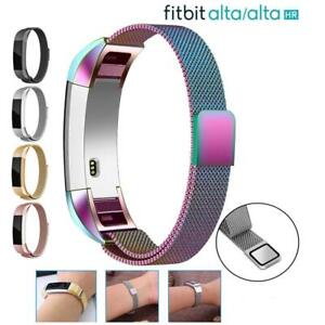 For-Fitbit-Alta-Alta-HR-Magnetic-Milanese-Stainless-Steel-Watch-Band-Strap-S-L