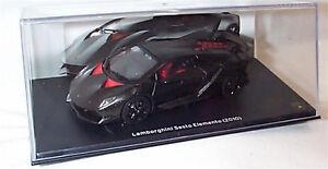 Lamborghini Sesto Elemento 2010 In Black 1 43 Scale New In Case