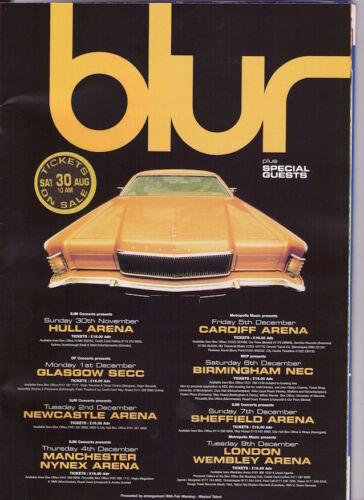 0502 Vintage Arte Cartel De Música-Blur