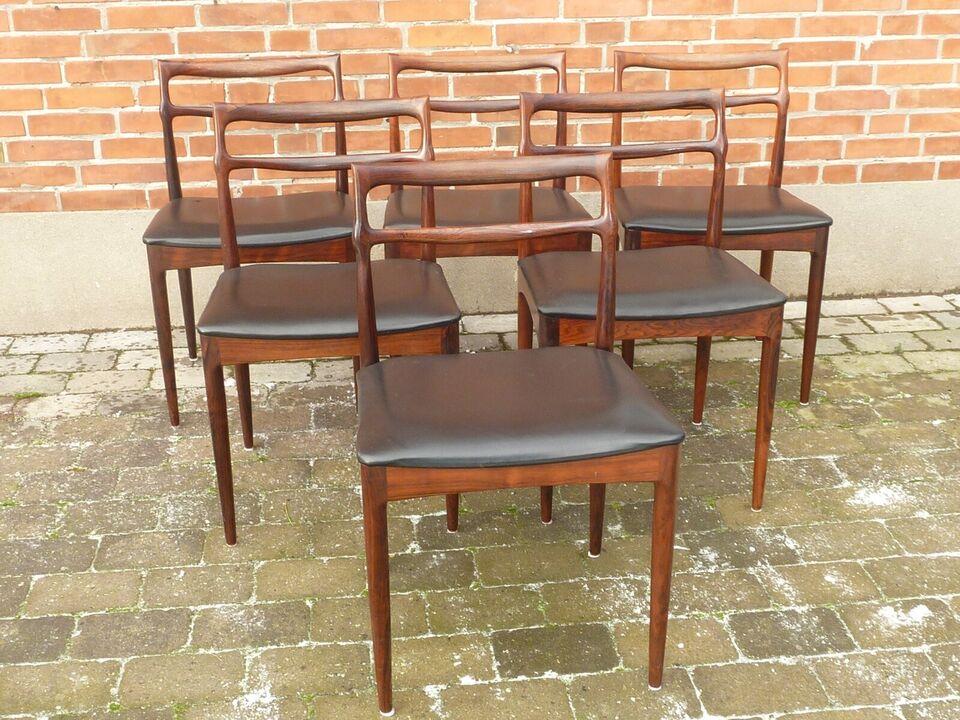Johannes Andersen, Model 95 , Palisander spisebordstole