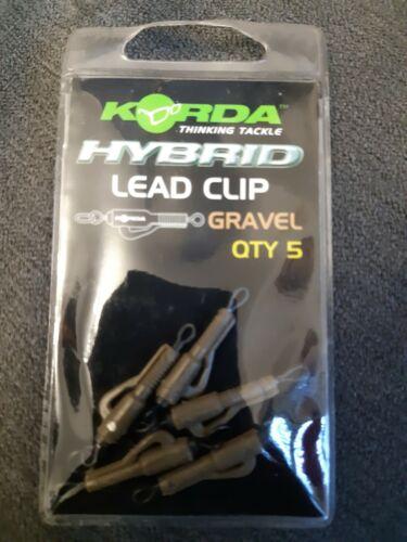 Korda Hybrid Lead Clip Gravel carp fishing