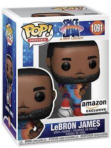 Funko Pop! Space Jam New Legacy Amazon Exclusive LeBron James #1091  Preorder