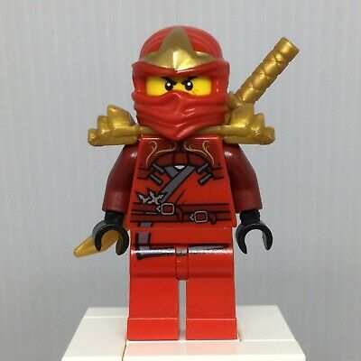 LEGO New Ninjago Movie Kai Minifigure with Armor and Katanas