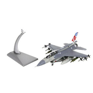 1-72-Scale-Diecast-Fighter-Model-F16D-Fighting-Falcon-Aircraft-with-Stand