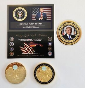 Trump-Golf-Ball-Marker-Sniper-One-Shot-One-Kill-24K-Gold-Plated-Coin