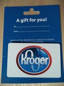 kroger 15 gift card also good at ralph 39 s fred meyer king soopers ebay. Black Bedroom Furniture Sets. Home Design Ideas