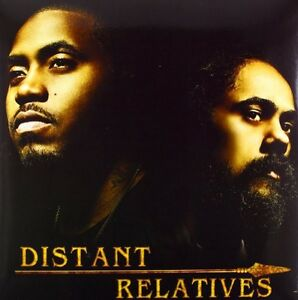 Distant-Relatives-Damian-Jr-Gong-Marley-Nas-2011-Vinyl-NIEUW-2-DISC-SET