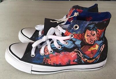 Converse Chuck Taylor All Star Superman DC Comics Shoes 150444C US 5.5 Wo's 7.5 | eBay