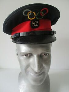 IX-Olympiade-Amsterdam-1928-Olympic-games-steward-039-s-cap-hat