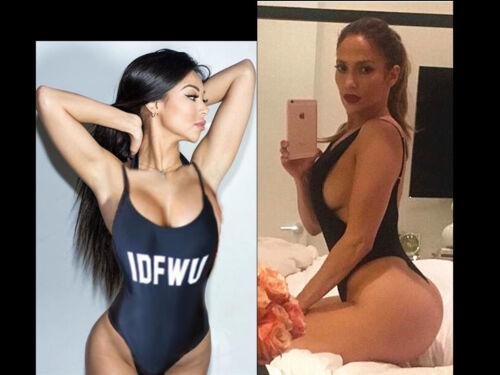 Damen Pool-Party Bikini Push-Up Bandeau Rückenloser Body Tenue De Plage