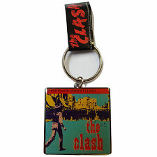The Clash OFFICIAL Square Key Ring Band Retro Gift Straight To Hell Music 1A